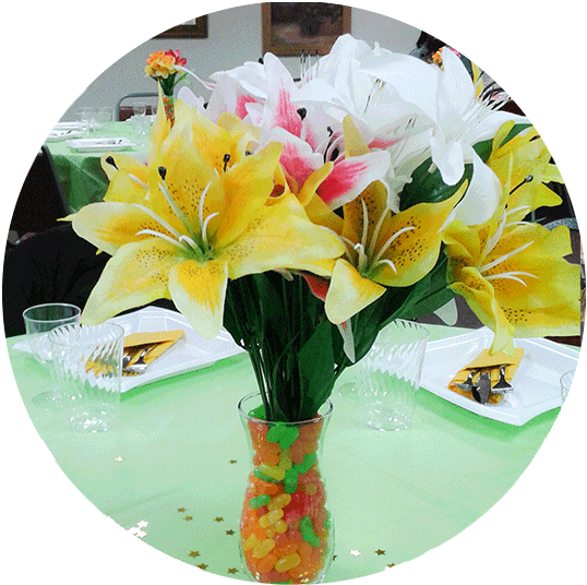 Event from the Heart - Slide photo - event - Flowers
