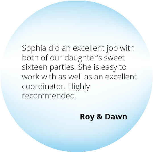 Event from the Heart - Testimonials - Roy & Dawn